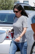 COURTENEY COX Out and About in Malibu 08/13/2016