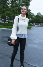 COURTNEY EATON Out and About in Tokyo 08/28/2016