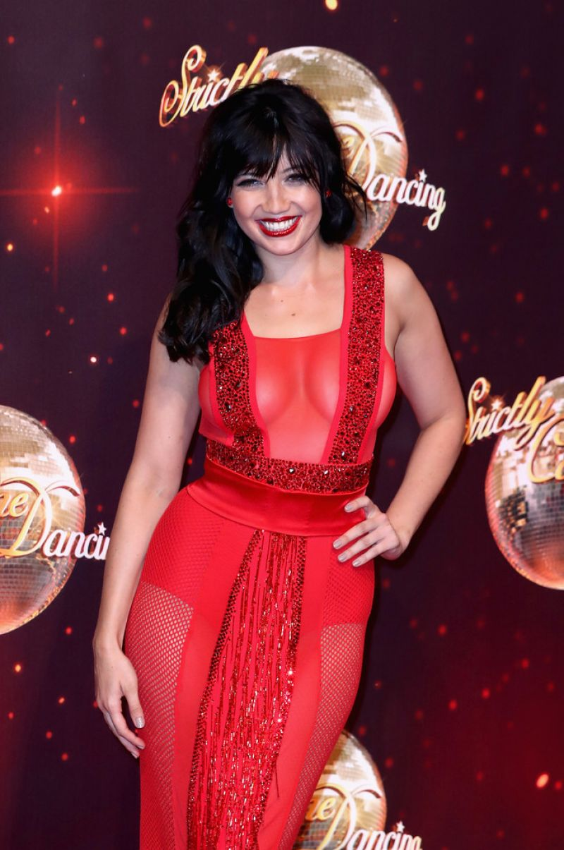DAISY LOWE at Strictly Come Dancing 2016 Launch in Borehamwood 08/30/2016