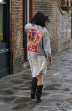 DAISY LOWE Out and About in London 08/28/2016