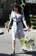 DAISY LOWE Out Shopping in London 08/15/2016