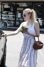 DAKOTA FANNING Out and About in Los Angeles 08/05/2016