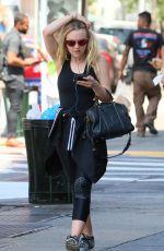 DAKOTA FANNING Out in New York 08/15/2016