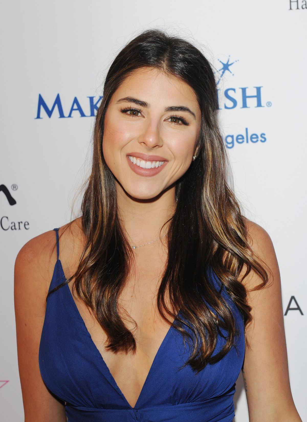 DANIELLA MONET at Make A Wish Greater Los Angeles Fashion Fundraiser in Hollywood 08/24/2016