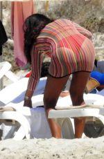 DANIELLA SEMAAN in Bikini at a Beach in Formentera 08/08/2016