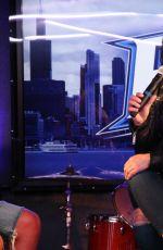 DEMI LOVATO at B96 Interview in Chicago 08/02/2016