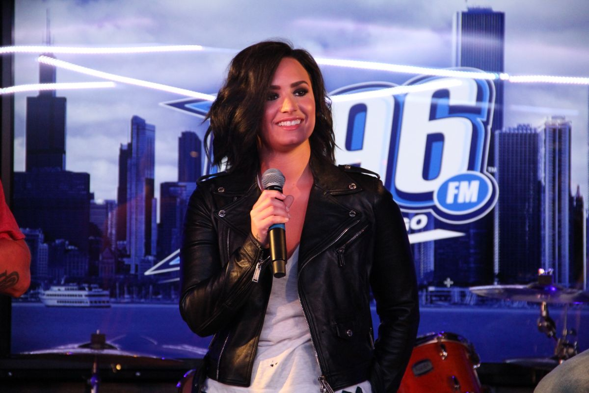 Demi Lovato At Bsix Interview In Chicago