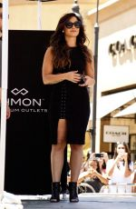 DEMI LOVATO at Desert Hills Premium Outlets in Cabazon 08/17/2016