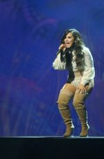 DEMI LOVATO Performs at 2016 Honda Civic Tour Future Now in Vancouver 08/24/2016