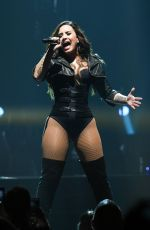 DEMI LOVATO Performs at Honda Civic Tour in Seattle 08/21/2016