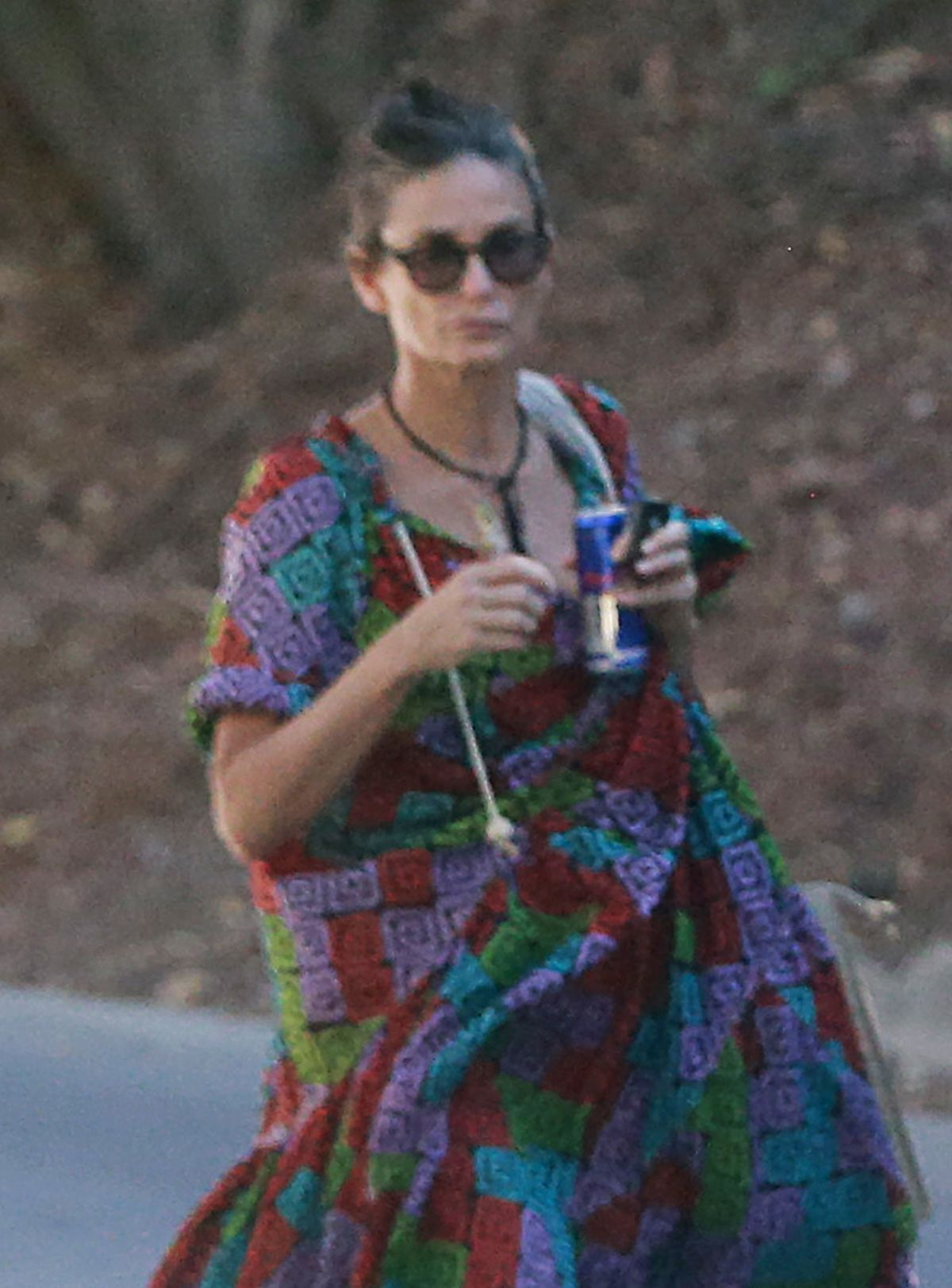 DEMI MOORE Leaves Her Home in Los Angeles 08/14/2016
