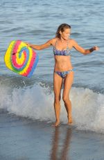 DENISE RICHARDS in Bikini at a Beach in Los Angeles 07/31/2016