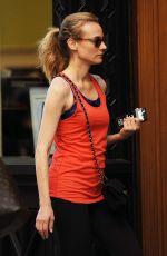 DIANE KRUGER Leaves a Gym in New York 08/08/2016