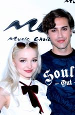 DOVE CAMERON at Music Choice Studio in New York 07/29/2016