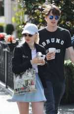 DOVE CAMERON Out and About in Vancouver 08/22/2016