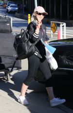 DOVE CAMRON at Vancouver International Airport 08/14/2016
