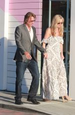 EILEEN DAVIDSON and Vincent Van Patten Out in Malibu 08/13/2016
