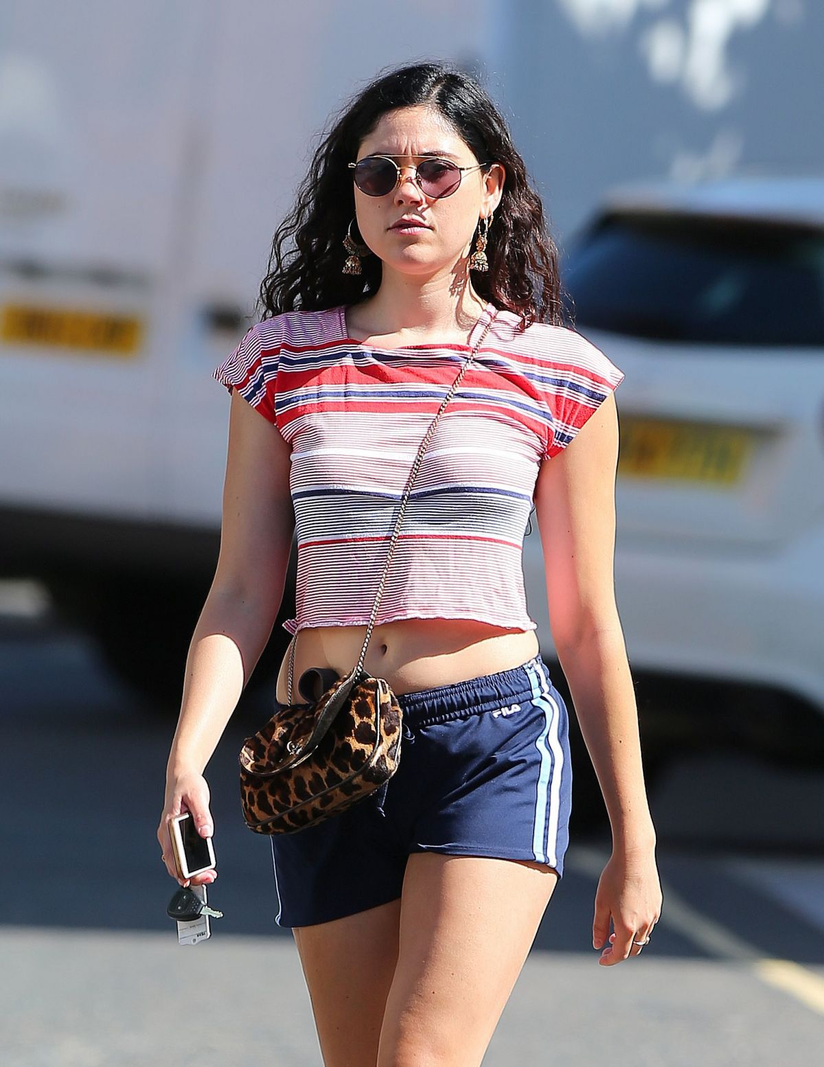 ELIZA DOOLITTLE Out and About in London 08/07/2016