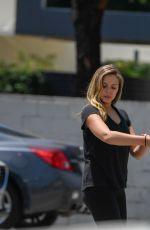 ELIZABETH OLSEN Leaves a Gym in West Hollywood 08/03/2016