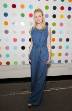 ELLE FANNING at Just One Eye x Creatures of the Wind Collaboration Dinner in Los Angeles 08/18/2016