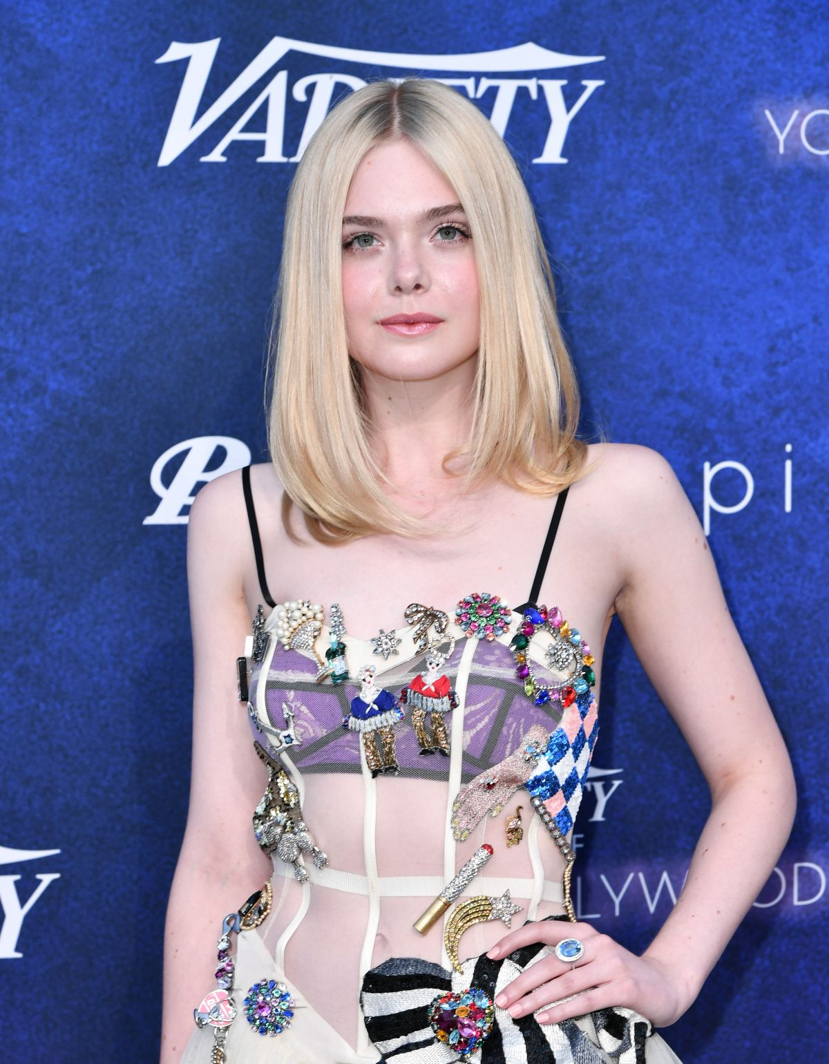 ELLE FANNING at Power of Young Hollywood Party in Los Angeles 08/16/2016