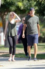 ELLE FANNING Out and About in Los Angeles 08/24/2016