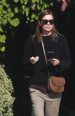 ELLEN POMPEO Leaves Andy LeCompte Salon in West Hollywood 08/26/2016