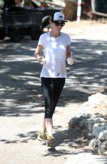 ELLEN POMPEO Out for Ice Cream in Los Feliz 08/04/2016