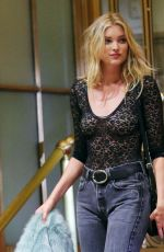 ELSA HOSK on the Set of a Photoshoot in New York 08/03/2016