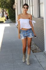 EMILY RATAJKOWSKI in Cut Off Out in Los Angeles 08/11/2016
