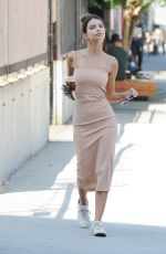 EMILY RATAJKOWSKI Out for Coffee in Los Angeles 08/19/2016