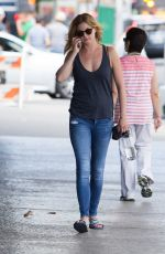 EMILY VAN CAMP Out and About in New York 08/23/2016