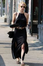 EMMA ROBERTS Out and About in Los Angeles 0//25/2016