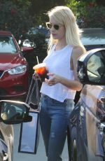 EMMA ROBERTS Out Shopping in West Hollywood 08/20/2016