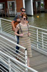 EMMA STONE Arrives at Venice Film Festival in Venice 08/30/2016
