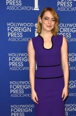 EMMA STONE at Hollywood Foreign Press Association's Grants Banquet in Beverly Hills 08/04/2016