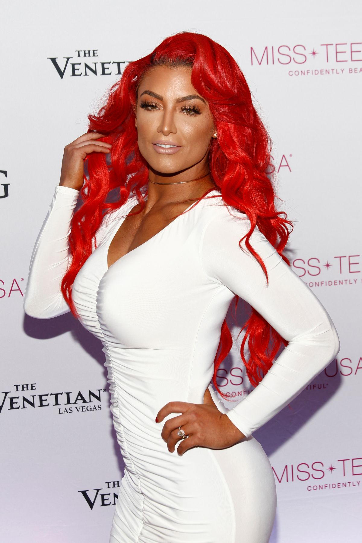EVA MARIE at 2016 Miss Teen USA Competition in Las Vegas 07/30/2016