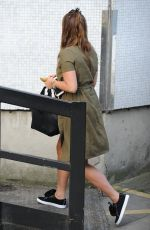FERNE MCCANN Arrives at ITV Studios in London 08/24/2016