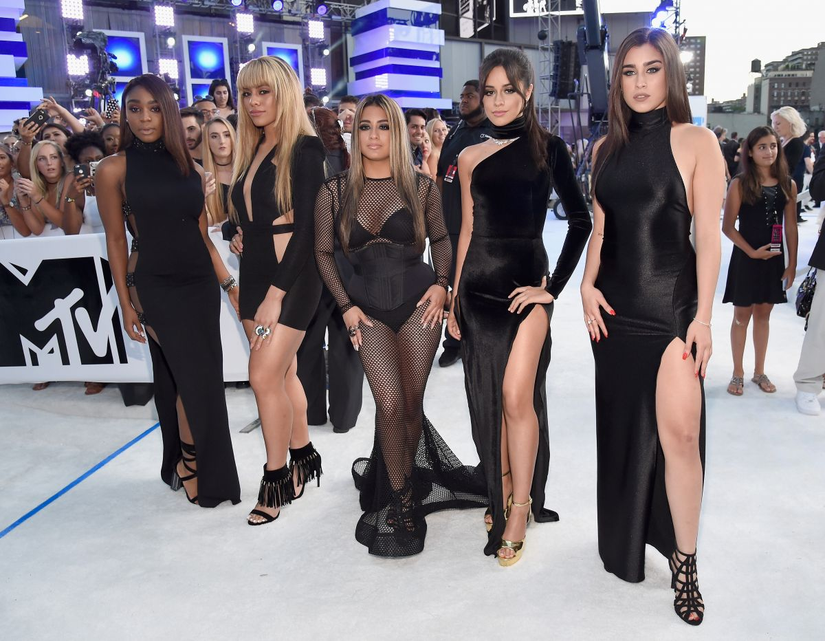 FIFTH HARMONY at 2016 MTV Video Music Awards in New York 08/28/2016