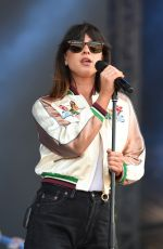 FOXES at V Festival at Hylands Park in Chelmsford 08/20/2016