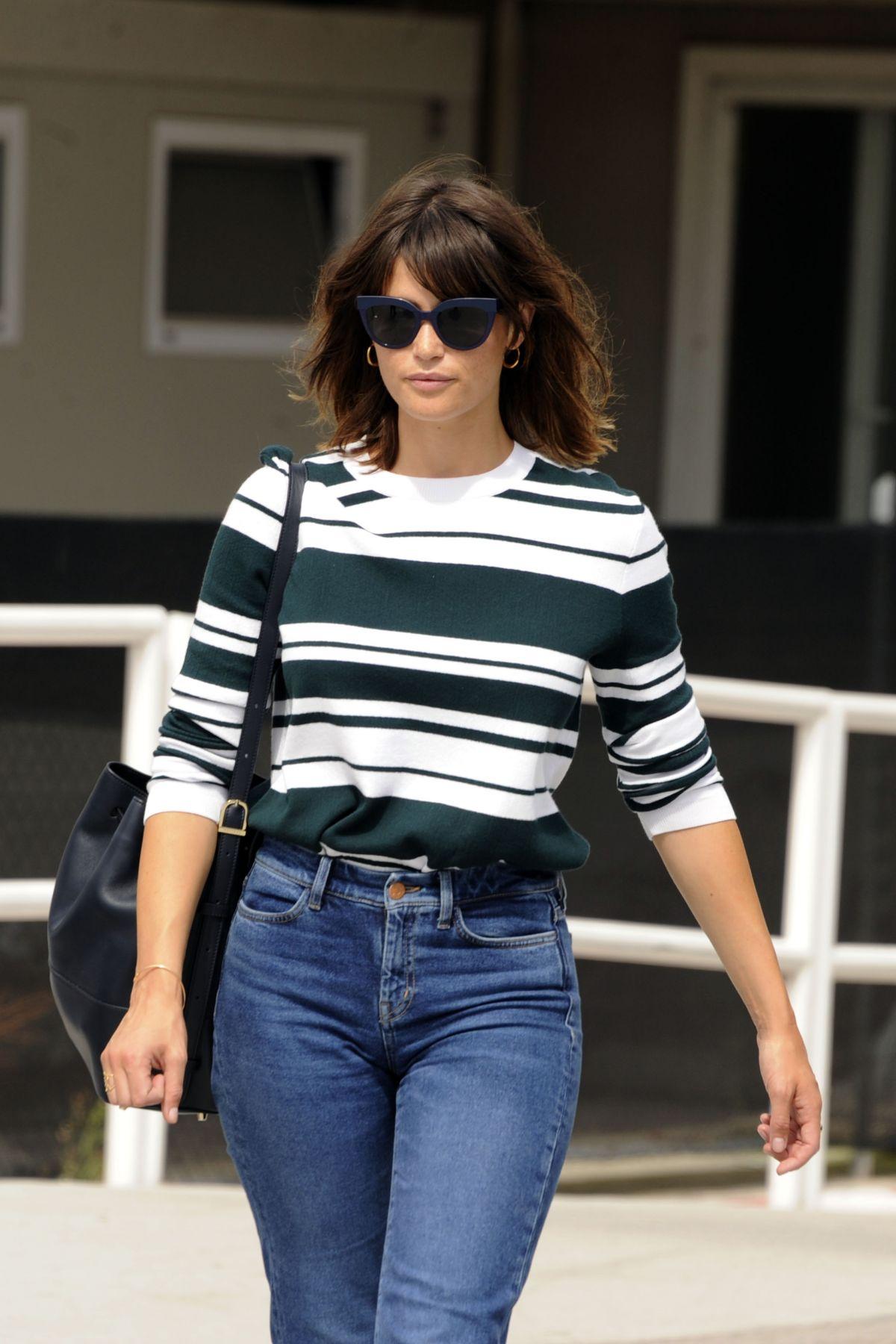 GEMMA ARTERTON Arrives at Venice Film Festival in Venice ...