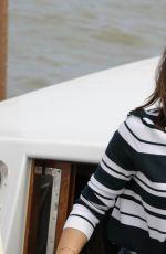 GEMMA ARTERTON Arrives at Venice Film Festival in Venice 08/30/2016
