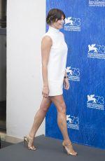 GEMMA ARTERTON at 73rd Venice Film Festival Photocall in Venice 08/31/2016