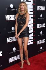 GEMMA VENCE at 'Mechanic: Resurrection' Premiere in Hollywood 08/22/2016
