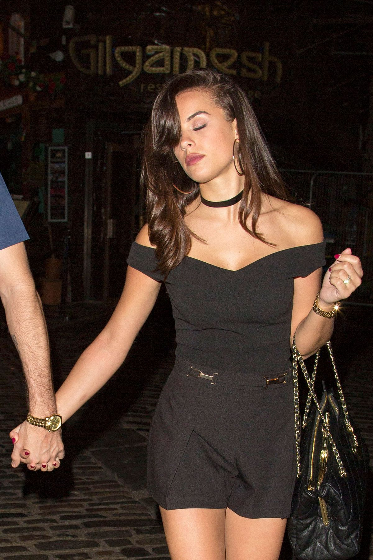 GEORGIA MAY FOOTE Night Out in London 08/12/2016
