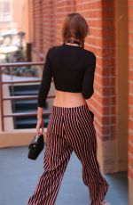 GIGI HADID Out and About in Beverly Hills 08/01/2016