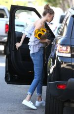 GIGI HADID Out and About in Los Angeles 08/10/2016
