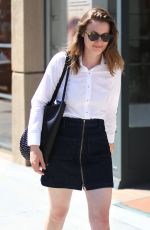 GILLIAN JACOBS Out and About in Beverly Hills 08/01/2016