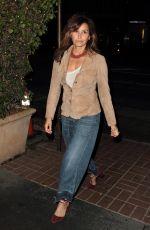 GINA GERSHON at Madeo Restaurant in Hollywood 08/23/2016