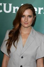 GRACE GUMMER at NBC/Universal Press Day at 2016 Summer TCA Tour in Beverly Hills 08/02/2016